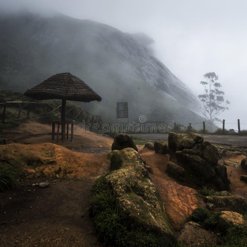 Η ομίχλη μουσώνα στοκ εικόνες με δικαίωμα ελεύθερης χρήσης