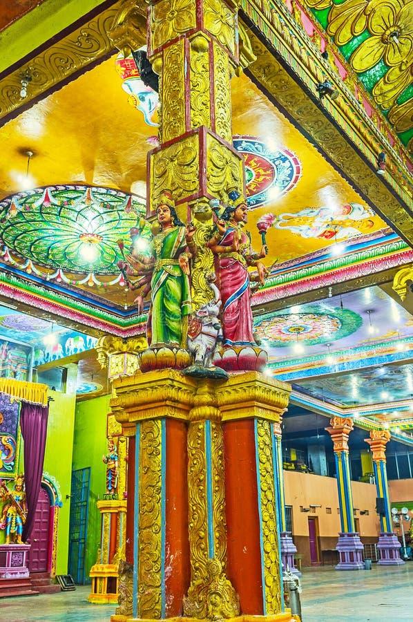 Η ομορφιά του ινδού ναού στοκ φωτογραφία