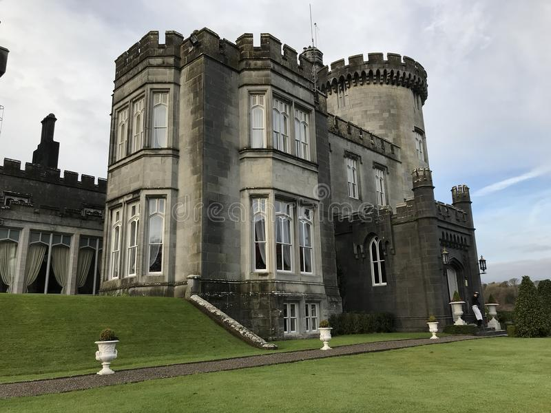 Η ομορφιά Dromoland Castle στοκ εικόνες
