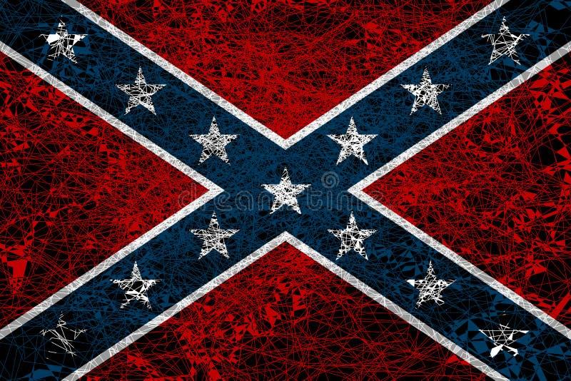 Η ομόσπονδη σημαία στοκ φωτογραφίες με δικαίωμα ελεύθερης χρήσης
