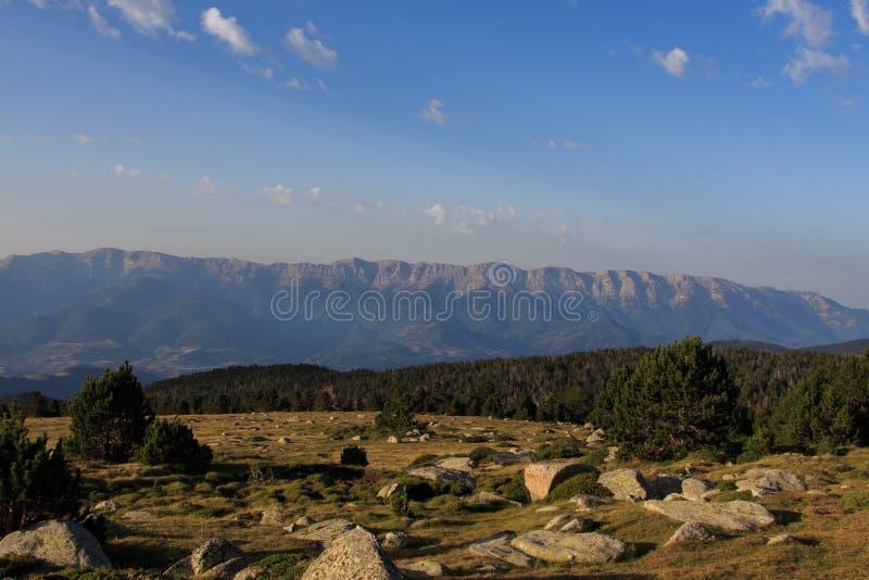 Η οροσειρά del Cadà σε όλη τη λαμπρότητα του στοκ φωτογραφία με δικαίωμα ελεύθερης χρήσης