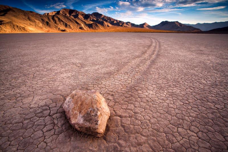 Η πίστα αγώνων Playa, ή η πίστα αγώνων, είναι ένας φυσικός ξηρός άθλος λιμνών στοκ εικόνες