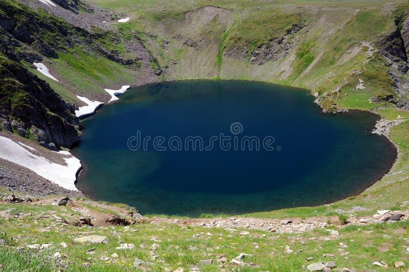 Η παγετώδης λίμνη ματιών στοκ φωτογραφίες με δικαίωμα ελεύθερης χρήσης