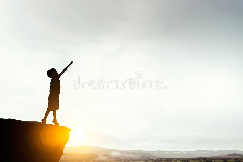 Η παιδική ηλικία είναι ευτυχής χρόνος στοκ φωτογραφία με δικαίωμα ελεύθερης χρήσης