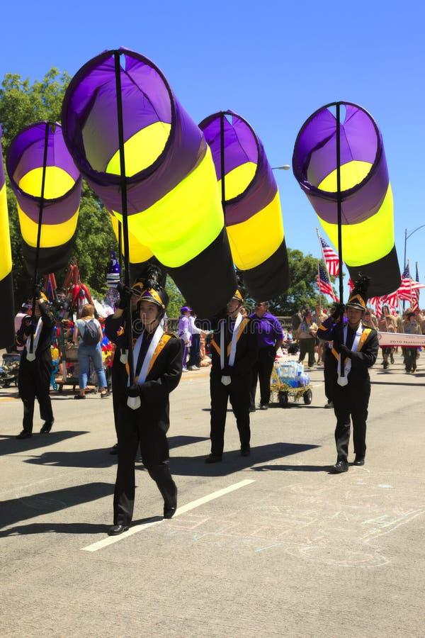 η παρέλαση Πόρτλαντ Ιουνίο& στοκ εικόνες