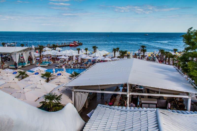 Η παραλία πόλεων Arcadia στοκ φωτογραφία με δικαίωμα ελεύθερης χρήσης