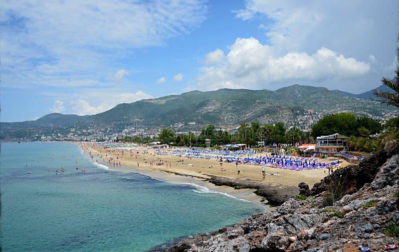 Η παραλία της Κλεοπάτρας στοκ εικόνα
