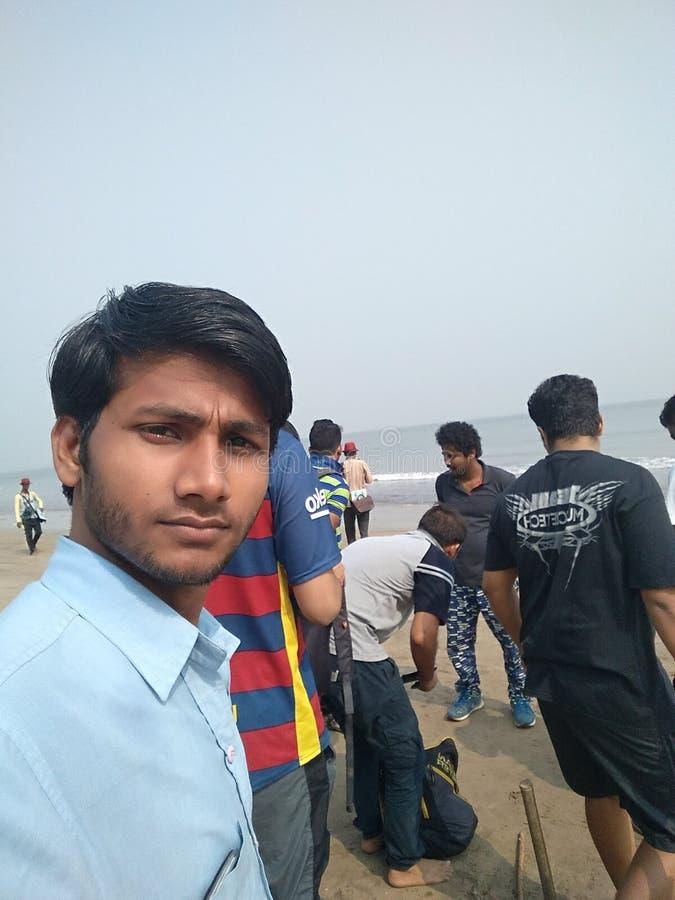 Η παραλία Santakruz juhu φωτογραφιών μου στοκ φωτογραφίες