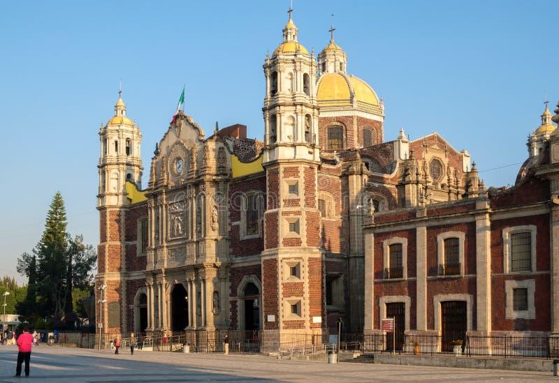 Η παλαιά βασιλική της κυρίας Guadalupe μας στην Πόλη του Μεξικού στοκ φωτογραφίες με δικαίωμα ελεύθερης χρήσης