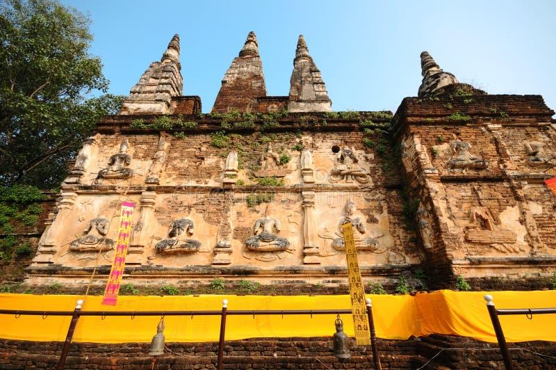 Η παλαιά παγόδα στο chiangmai, Ταϊλάνδη στοκ φωτογραφία με δικαίωμα ελεύθερης χρήσης