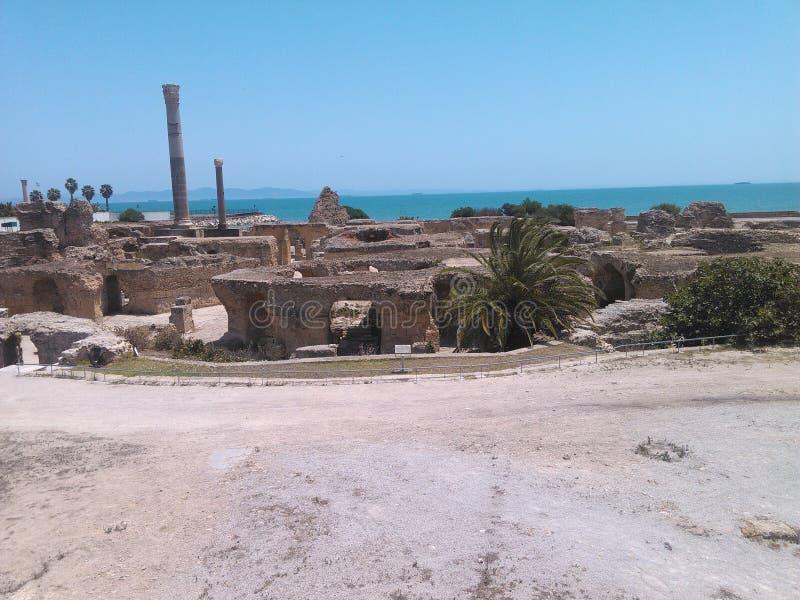 Η παλαιά πόλη Καρθαγένη στοκ εικόνες με δικαίωμα ελεύθερης χρήσης