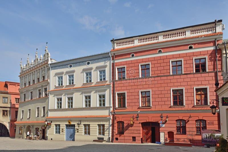 Η παλαιά πόλη στο Lublin, Πολωνία στοκ εικόνα με δικαίωμα ελεύθερης χρήσης