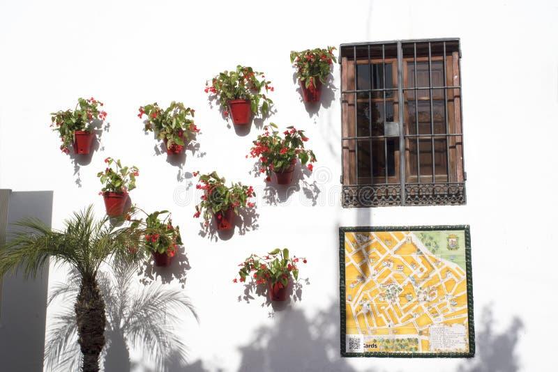 Η παλαιά πόλη Marbella στο Κόστα ντελ Σολ Ανδαλουσία, Ισπανία στοκ φωτογραφία