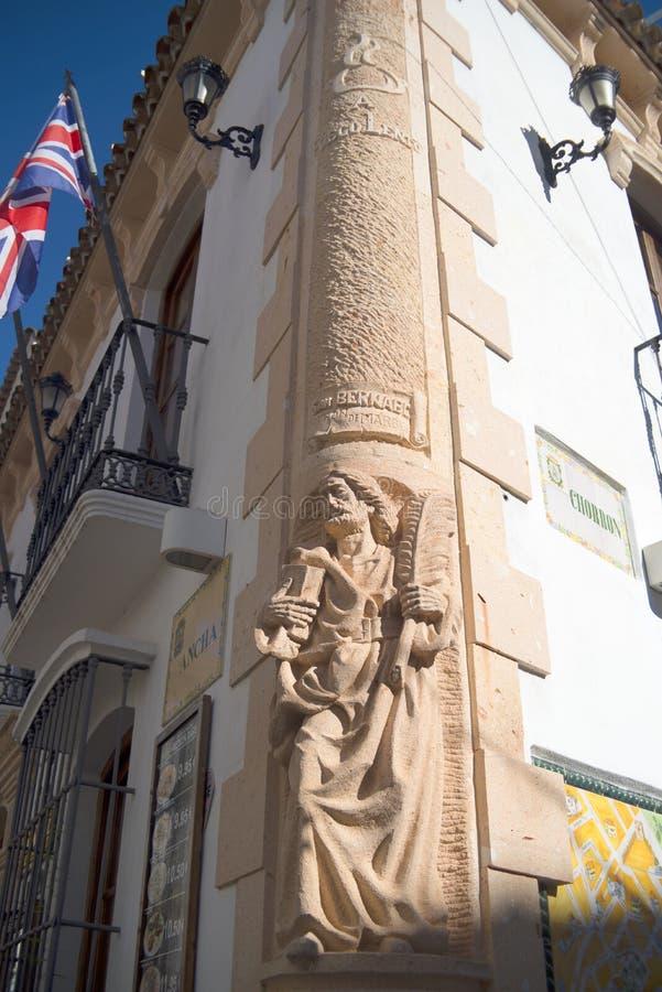 Η παλαιά πόλη Marbella στο Κόστα ντελ Σολ Ανδαλουσία, Ισπανία στοκ εικόνα με δικαίωμα ελεύθερης χρήσης