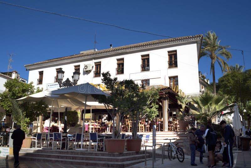 Η παλαιά πόλη Marbella στο Κόστα ντελ Σολ Ανδαλουσία, Ισπανία στοκ φωτογραφίες με δικαίωμα ελεύθερης χρήσης