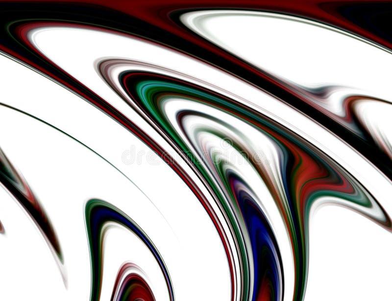 Η περίληψη θόλωσε τα μπλε πορφυρά κόκκινα άσπρα σκοτεινά χρώματα και το υπόβαθρο κίνηση γραμμών διανυσματική απεικόνιση