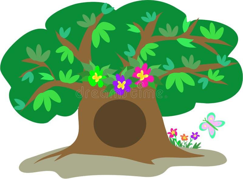 Download η πεταλούδα ανθίζει το μ&epsil Απεικόνιση αποθεμάτων - εικονογραφία από φύλλο, δέντρο: 13180935