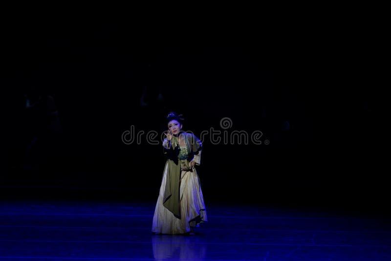 Η πικρία του Qin το μητέρα-τριών actï ¼ š ` όνειρο να τεμαχίσει το μετάξι ` - επική πριγκήπισσα ` μεταξιού δράματος ` χορού στοκ φωτογραφίες με δικαίωμα ελεύθερης χρήσης