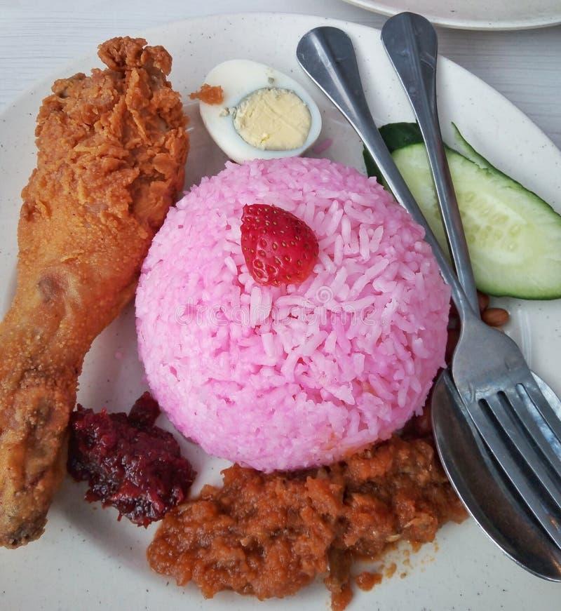 Η πιο διάσημη φράουλα nasi lemak στο Cameron Highlands, Pahang Malaysia στοκ εικόνες με δικαίωμα ελεύθερης χρήσης