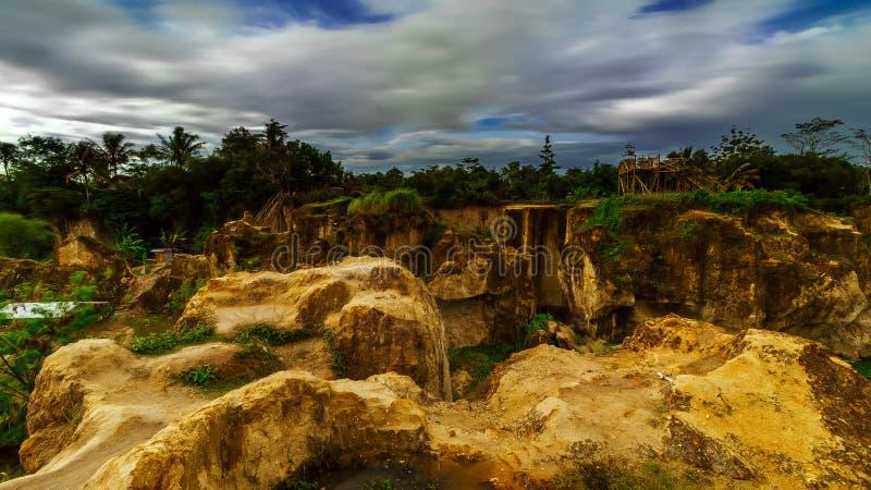 Η πορεία του απότομου βράχου Koja στοκ φωτογραφίες
