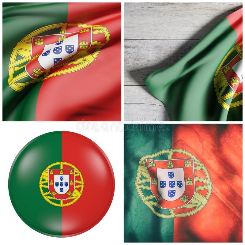 Η Πορτογαλία σημαιοστολίζει τη σύνθεση απεικόνιση αποθεμάτων
