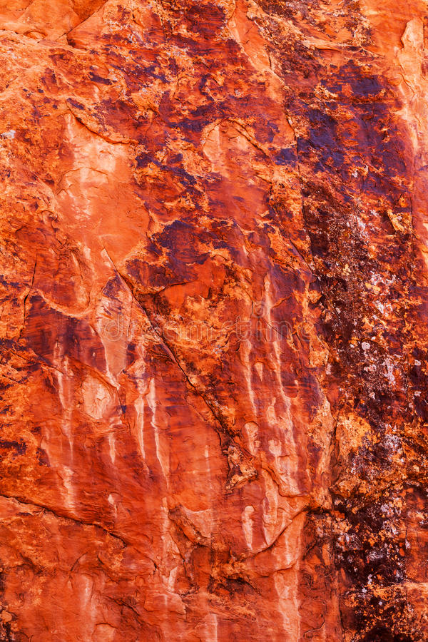 Η πορτοκαλιά περίληψη φαραγγιών βράχου σχηματίζει αψίδα το εθνικό πάρκο Moab Γιούτα στοκ φωτογραφία