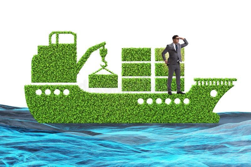 Η πράσινη φιλική προς το περιβάλλον έννοια οχημάτων απεικόνιση αποθεμάτων