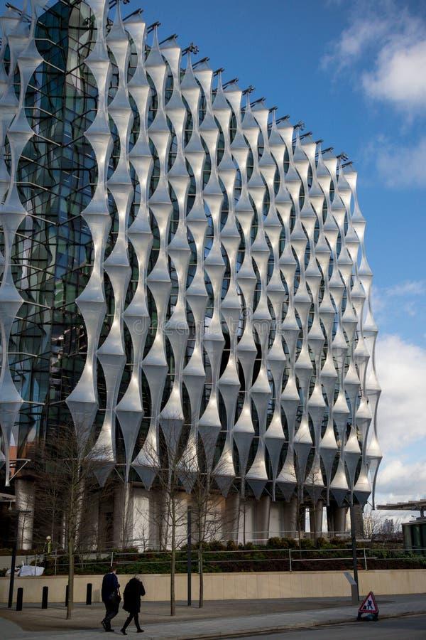 Η πρεσβεία των Ηνωμένων Πολιτειών της Αμερικής στο Λονδίνο στοκ εικόνες
