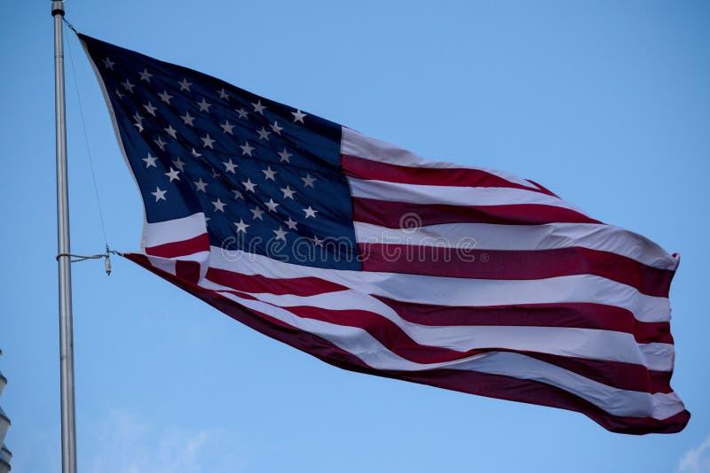 Η πρεσβεία των Ηνωμένων Πολιτειών της Αμερικής στο Λονδίνο στοκ εικόνες με δικαίωμα ελεύθερης χρήσης