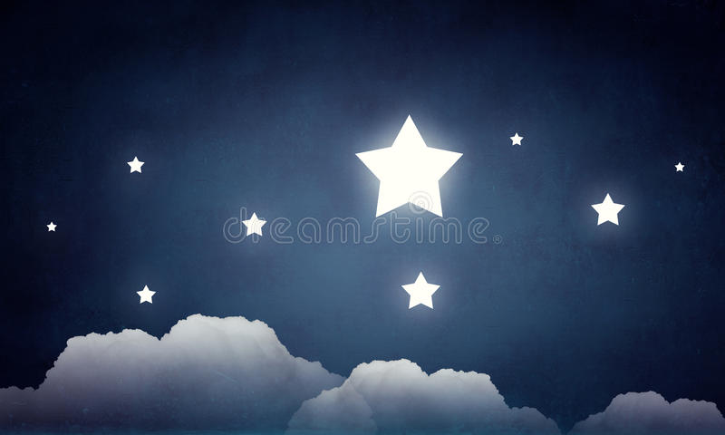 Η προσιτότητα και αγγίζει το αστέρι στοκ φωτογραφία με δικαίωμα ελεύθερης χρήσης