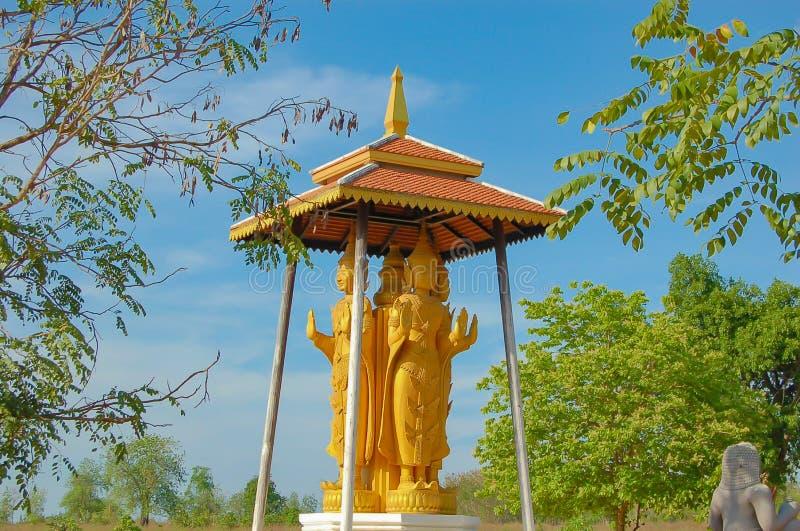 Η προσομοίωση των φωτογραφιών και της μαγνητοσκόπησης αγοράς η ιστορική Ταϊλάνδη στοκ εικόνα