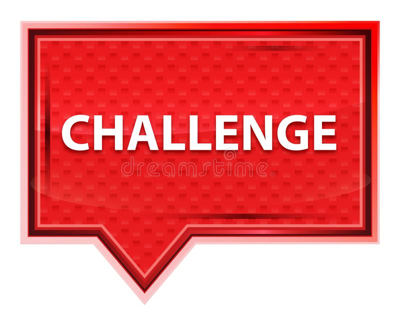 Η πρόκληση misty αυξήθηκε ρόδινο κουμπί εμβλημάτων απεικόνιση αποθεμάτων