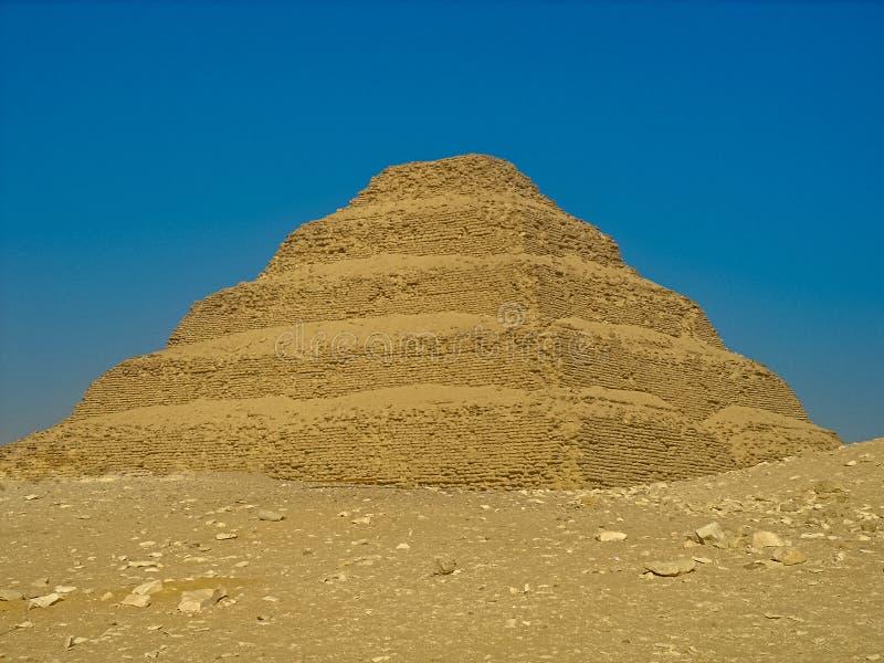 Η πυραμίδα βημάτων Djoser στοκ φωτογραφίες με δικαίωμα ελεύθερης χρήσης