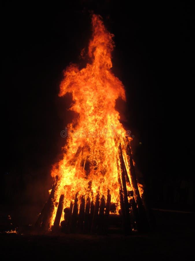 Η πυρκαγιά στοκ φωτογραφία