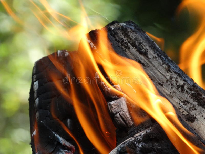 Η πυρκαγιά στοκ φωτογραφία με δικαίωμα ελεύθερης χρήσης