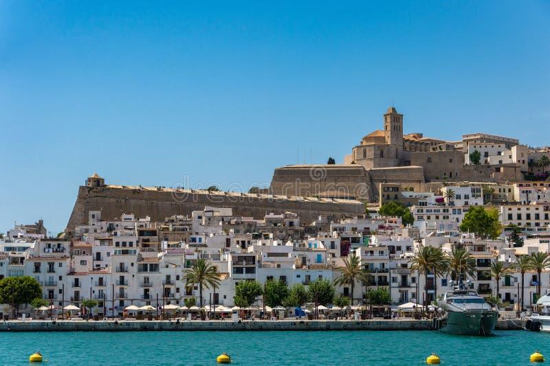 Η πόλης ΟΥΝΕΣΚΟ Ibiza στοκ φωτογραφία με δικαίωμα ελεύθερης χρήσης