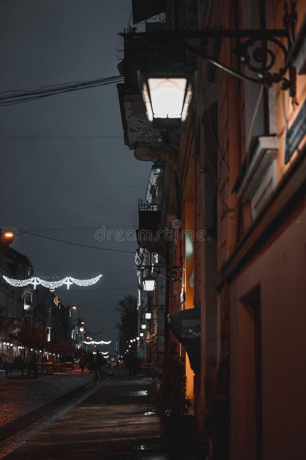 Η πόλη νύχτας στοκ φωτογραφίες