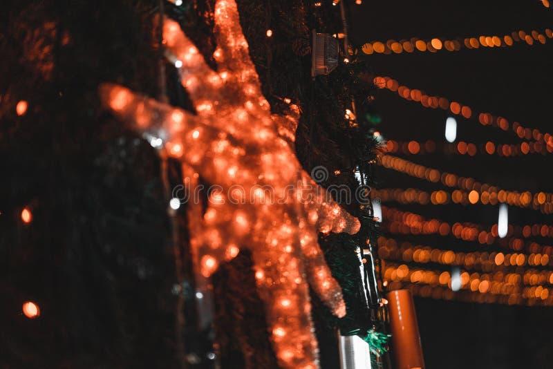 Η πόλη νύχτας στοκ εικόνα