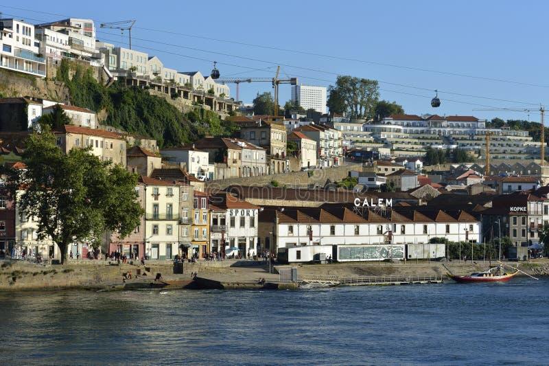 Η πόλη του Πόρτο στην Πορτογαλία στοκ εικόνες με δικαίωμα ελεύθερης χρήσης