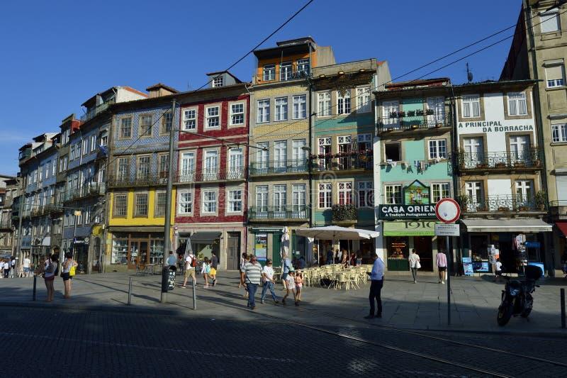 Η πόλη του Πόρτο στην Πορτογαλία στοκ εικόνα