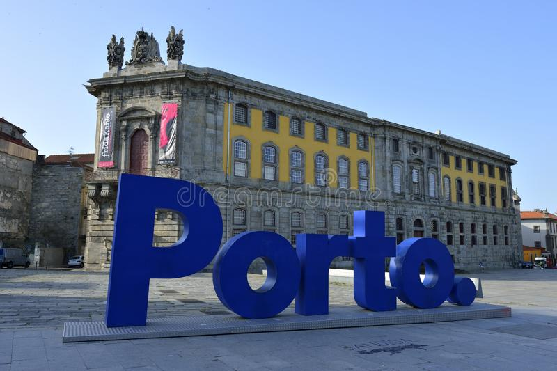 Η πόλη του Πόρτο στην Πορτογαλία στοκ φωτογραφία