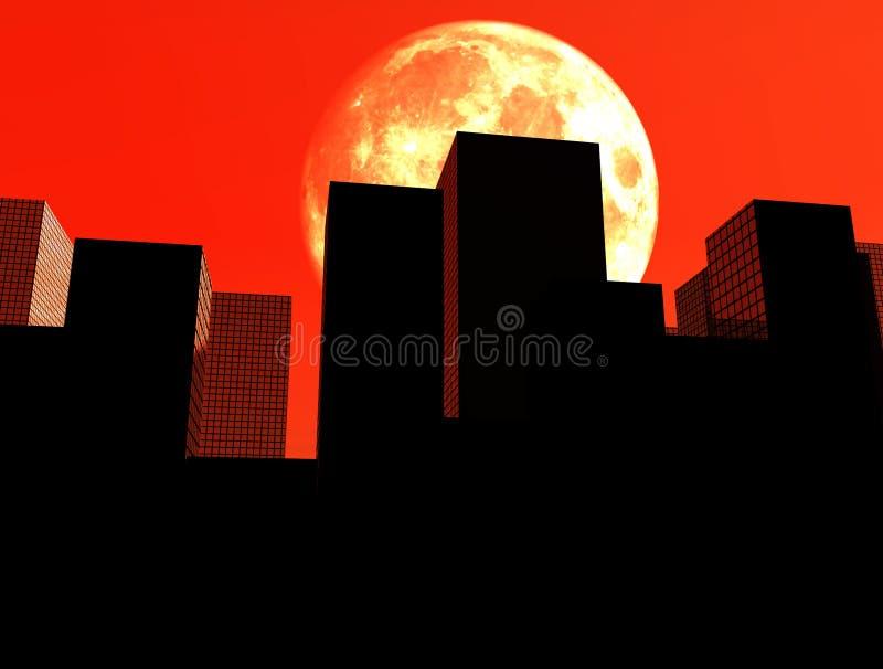 Η πόλη 14 διανυσματική απεικόνιση