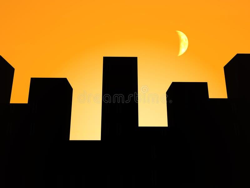 Η πόλη 6.2 διανυσματική απεικόνιση