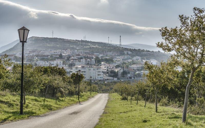 Η πόλη Selce στοκ φωτογραφία με δικαίωμα ελεύθερης χρήσης