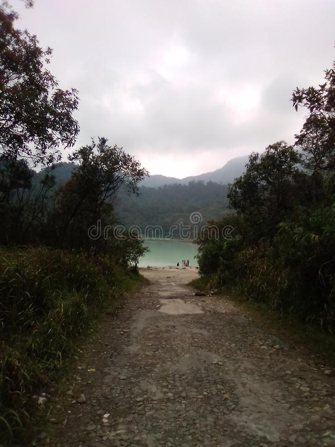 Η πόρτα της λίμνης στοκ εικόνες