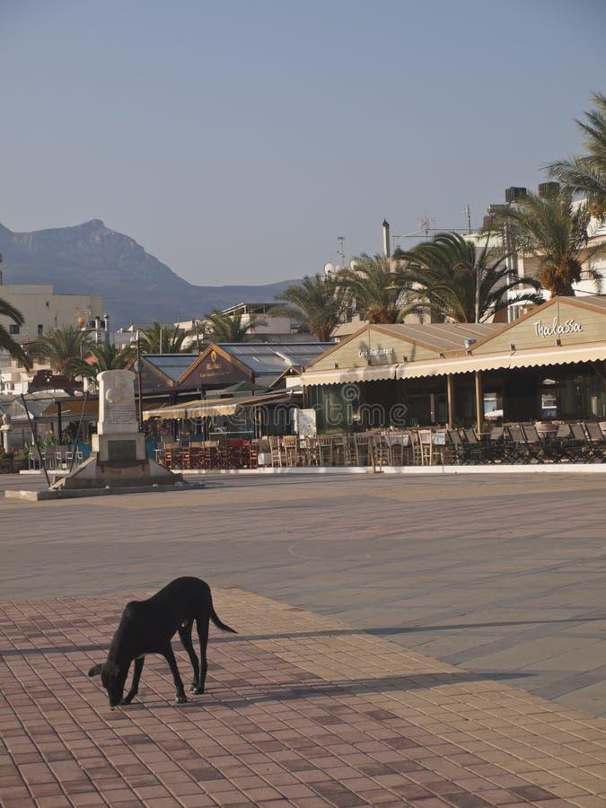 Η πόλη του αναχώματος της Σητείας Κρήτη στοκ φωτογραφία με δικαίωμα ελεύθερης χρήσης