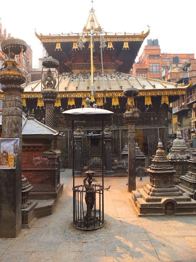 Η πόλη του Κατμαντού, Νεπάλ στοκ εικόνες