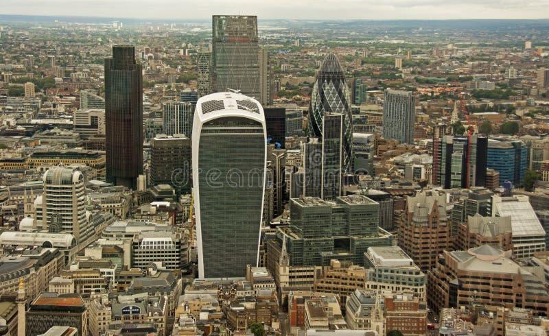 Η πόλη του Λονδίνου από το Shard στοκ φωτογραφίες με δικαίωμα ελεύθερης χρήσης