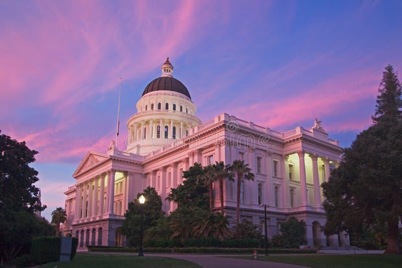 Η πόλη του Σακραμέντο Καλιφόρνια στοκ εικόνες