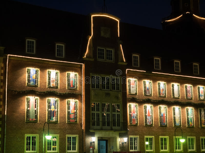 Η πόλη του coesfeld στοκ φωτογραφίες